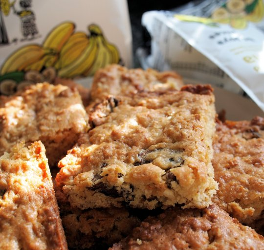 Tropical Fruit Flapjack Slices