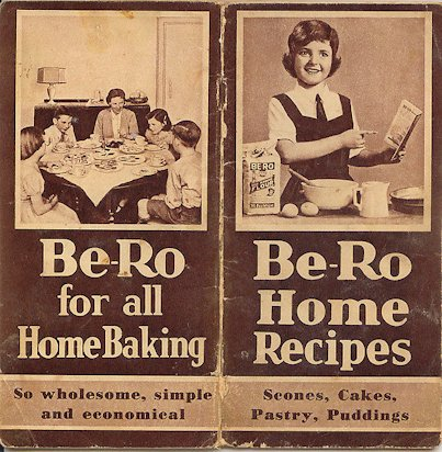 Old Be-Ro Cookbook