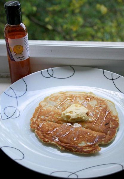 Breakfast Pancake Party with British Artisan Syrups by Atkins and Potts