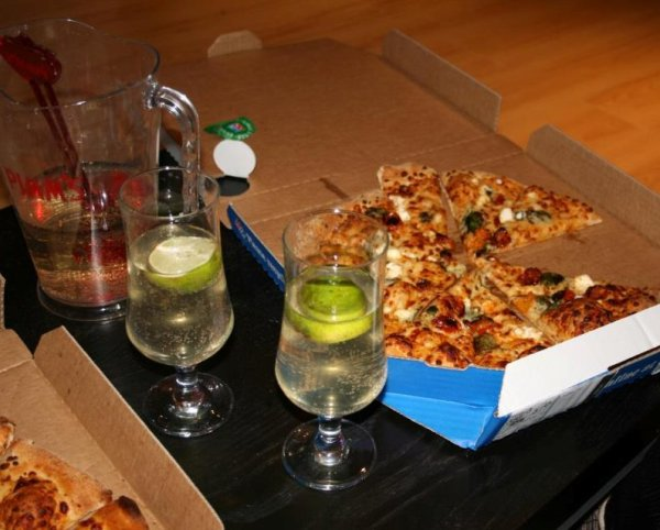 Skyfall Party Night with Domino's Gourmet Range Pizza