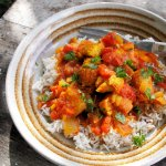 Easy Low-Fat Monkfish Curry Recipe