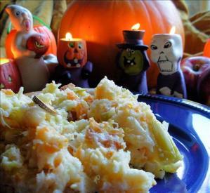 Traditional Halloween Supper: Mash O' Nine Sorts