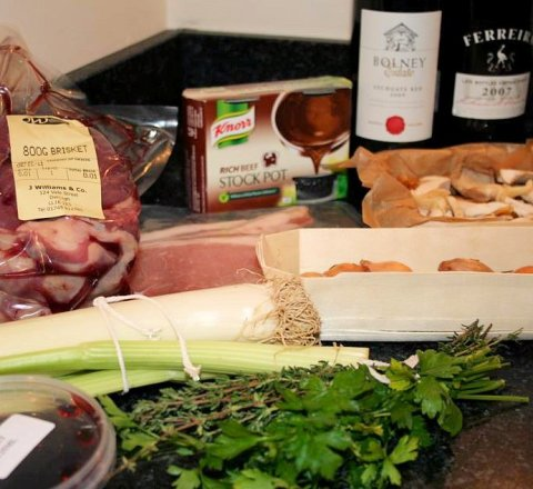 Boeuf Bourguignon with Wild Mushrooms Box