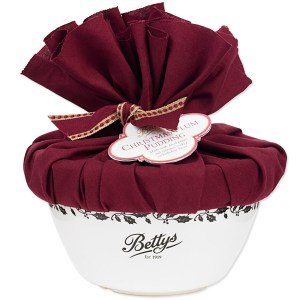 Giveaway & Review: Bettys Christmas Plum Pudding in a Collectable Ceramic Pudding Basin