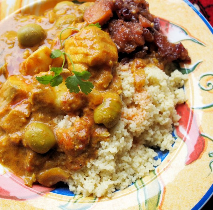 Festive Fish Tagine with Cod and Olives