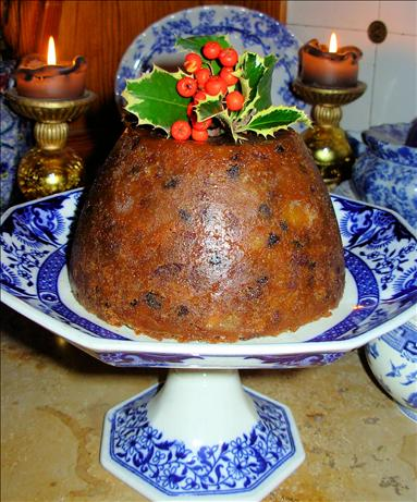 Traditional Victorian Christmas Pudding