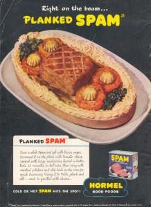 Spam Recipe 1945