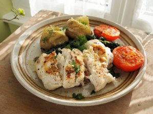 Fish on Friday: Pan-Fried Garlic and Peppered Hake Fillets Recipe