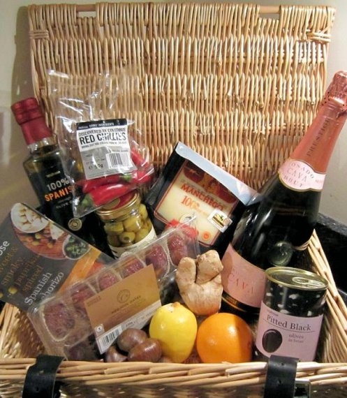 'Olives from Spain' Hamper