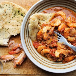 Tiger Prawn Curry with Basmati Rice (5:2 Diet)