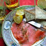 Whisky Doused Salmon