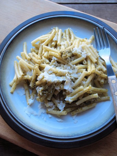 Pesto Pasta with Parmesan