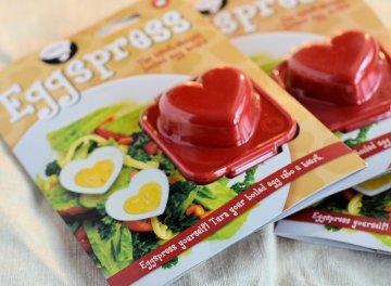 Eggspress Boiled Egg Heart Shaped Mould