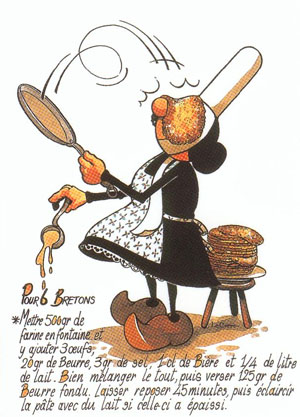 French Candlemas - La Chandeleur - Crêpe Day