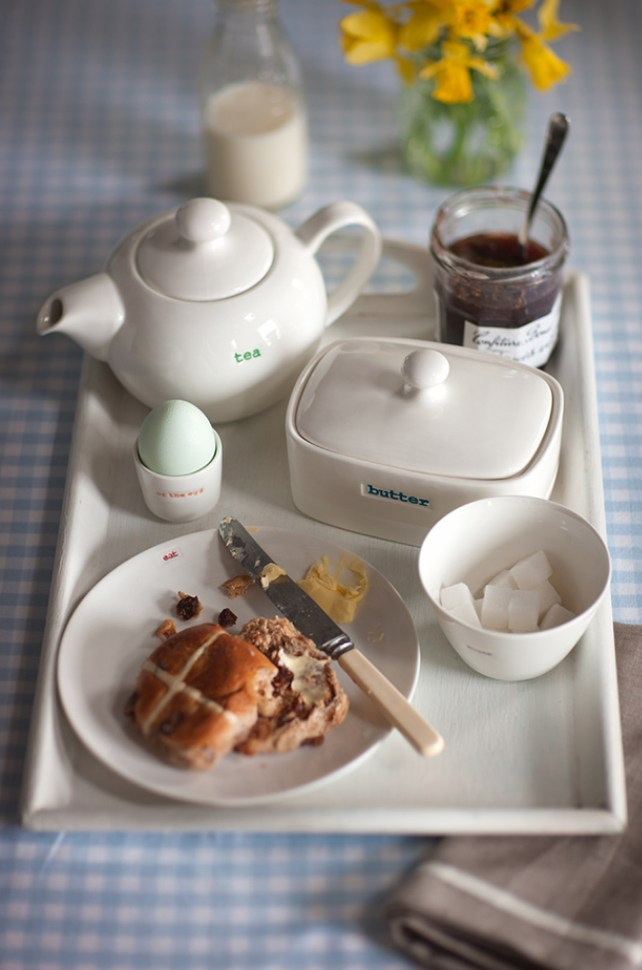 Giveaway: Win a STUNNING Keith Brymer Jones Easter Breakfast Tableware Set worth £106:50
