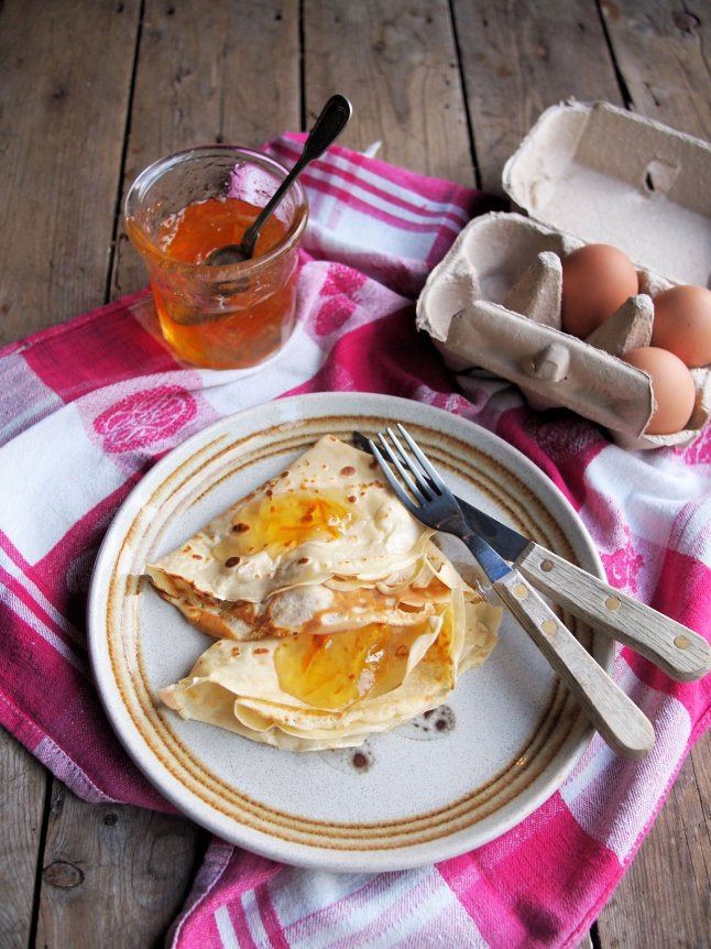 Recipe: Pancakes for Everyday! My Marmalade Pancakes for
