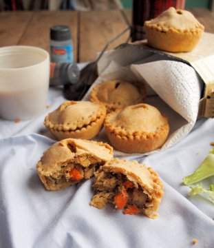 Roast Chicken & Vegetable Hand Pies
