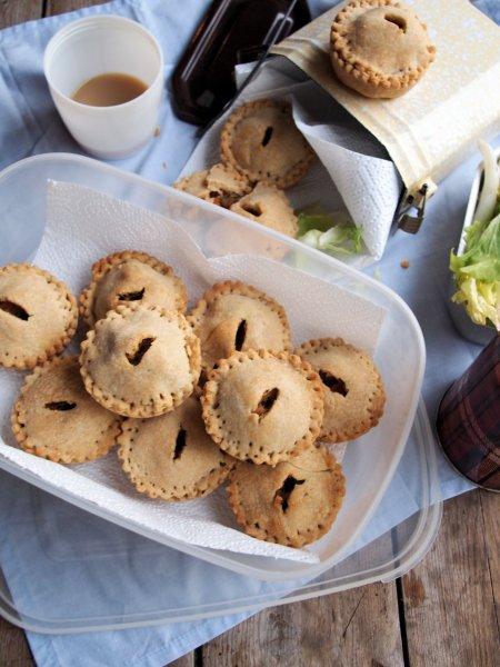 Roast Chicken & Vegetable Hand Pies