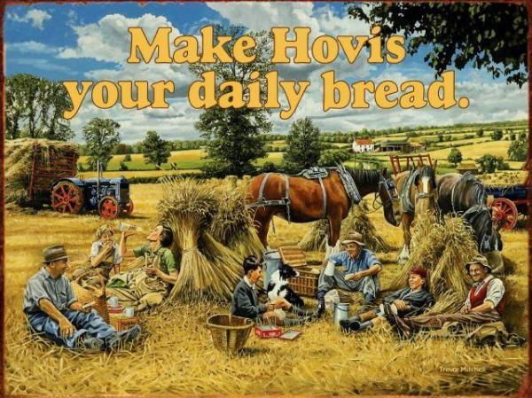 Vintage Hovis Advertisement