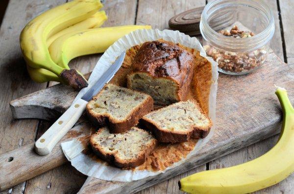 An Old Vintage Hovis Bread Tin and Nigel Slater's Black Banana Cake Recipe