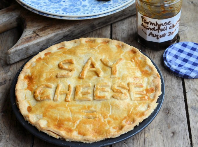Say Cheese! Cheese, Onion and Potato Pie