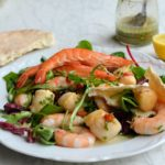 Gourmet 5:2 Diet Recipe - Scallop and Prawn Platter with Chilli Herb Vinaigrette