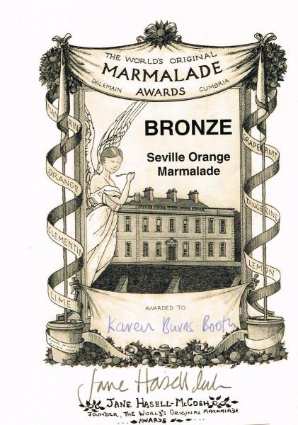 Marmalade Awards Bronze