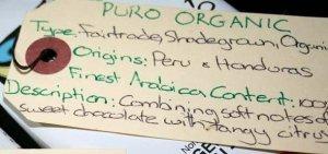 Puro Organic Coffee