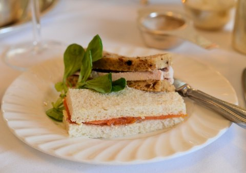 Assorted Sandwiches at Bettys of York Afternoon Tea