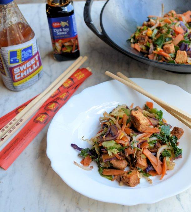 Rainbow Stir-Fry with Quorn