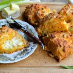 Cheese and Spring Onion Scones 9
