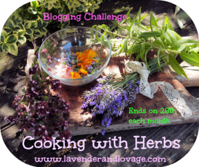 Herbs on Saturday for June: Cooking with Herbs Challenge - Win a Pot of Culinary Lavender Grains