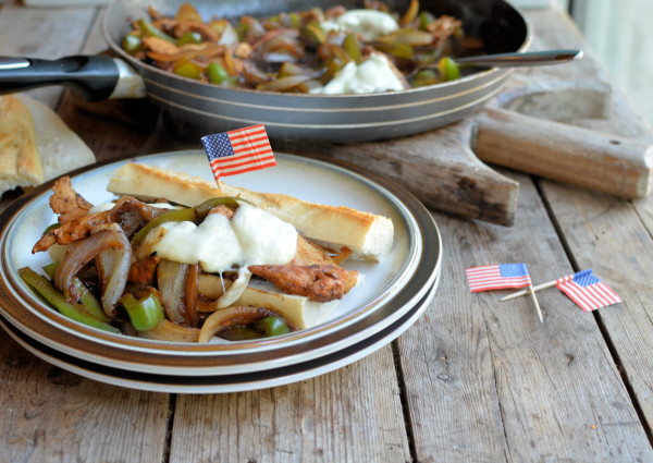 Philly Cheesesteaks and The Secret Recipe Club: Chicken Philly Sandwich Recipe