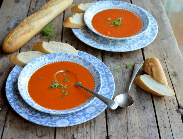 Go Hot or Cold with this 5:2 Diet and Weight Watchers Recipe: Roasted Red Pepper Soup