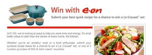 Win with E-On