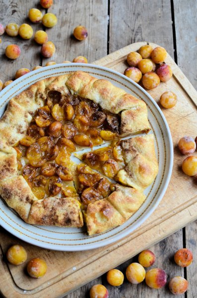 Spiced Mirabelle Plum Galette  2