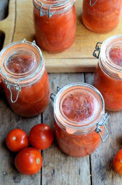 Bottled Garden Tomatoes