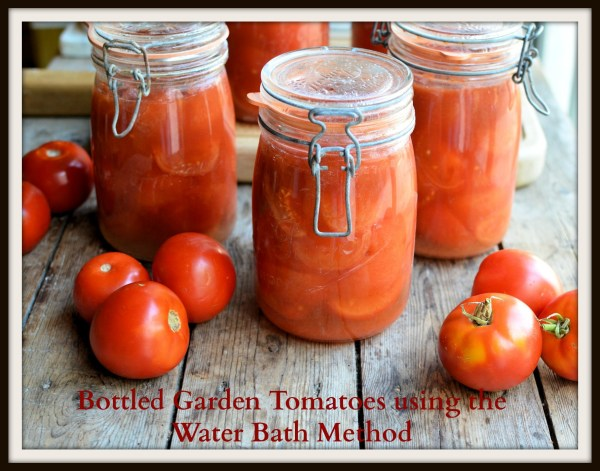 Bottled Garden Tomatoes