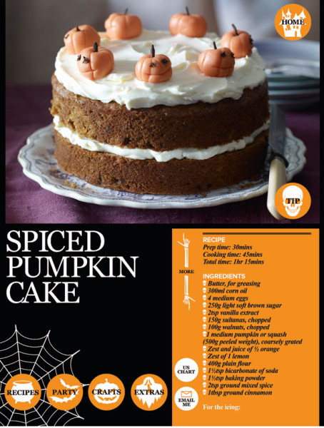 Halloween Bakes, Cakes & Recipes + Win a Spooky Halloween Party Planner App!