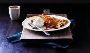 Stunning sticky toffee Abra-ca-Debora pancakes