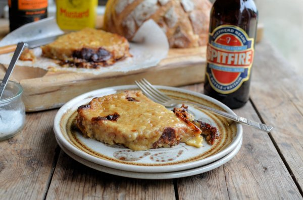 Welsh Rabbit with Spitfire Ale