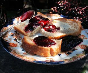 Elderberry and Apple Jelly