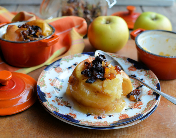 Baked Apples for Supper