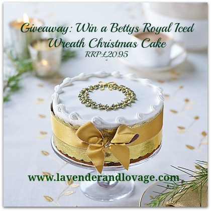 Giveaway: Win a Bettys Royal Iced Wreath Christmas Cake (RRP:£20.95) http://wp.me/p287Dn-5Pu