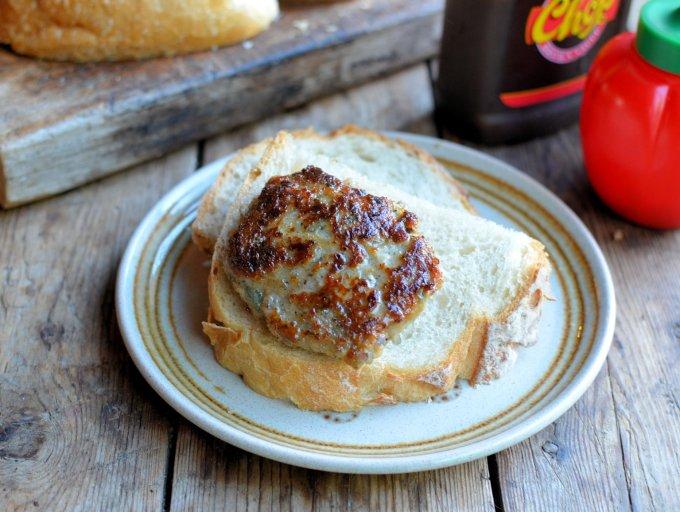 Bangin' Bonfire Bacon & Banger Burgers (Sausage & Bacon Burgers)