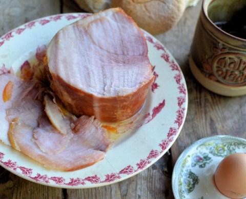 High Tea with Ham and Eggs and Marmalade Glazed Ham/Gammon Recipe