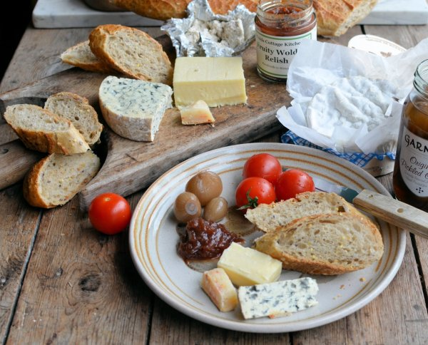 Winter Ploughman's Lunch