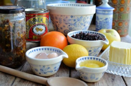 Xmas Pudding Ingredients