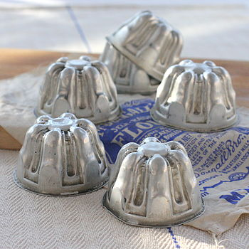 Vintage Jelly Moulds