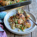 Best of British Bloggers: Oven Baked Chicken Thigh Risotto with Dom and Belleau Kitchen